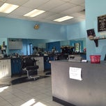 Photo taken at Parkway Barber Shop by Dewey T. on 6/12/2013