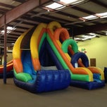 Photo taken at Leapin' Lizards Fun & Party Center by Shelton D. on 1/1/2014