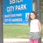 Photo taken at Sister City Park by Chris S. on 8/5/2013