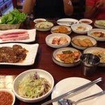 Photo taken at Korean Restaurant by Vilay M. on 9/29/2013