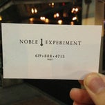Photo taken at Noble Experiment by aaronpk on 7/7/2013