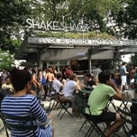 Photo taken at Shake Shack by Rebecca A. on 7/31/2013