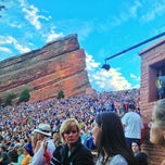 Photo taken at Red Rocks Park & Amphitheatre by Steve H. on 7/29/2013