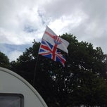 Photo taken at Alton the Star Camping and Caravanning Club Site by Billy T. on 7/5/2014