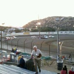 Photo taken at Barona Speedway & Dragstrip by Jamie on 10/30/2011