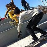 Photo taken at Far Rockaway Skatepark by HOMAGE B. on 11/5/2011