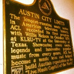Photo taken at Austin City Limits Studio by okjedi D. on 10/20/2011