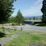 Photo taken at Evergreen Cemetery by Demetri S. on 8/28/2011