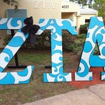 Photo taken at ZTA house by Allison M. on 3/22/2011
