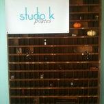 Photo taken at Studio K Pilates by Annie W. on 10/21/2011
