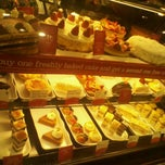 Photo taken at la Madeleine Country French Café by Jake V. on 12/21/2011