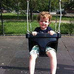 Photo taken at Vincent B. Abate Playground by Freyja G. on 5/29/2011