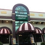 Photo taken at Ponderosa Steakhouse by Bruno C. on 4/14/2012