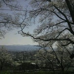 Photo taken at 甲府市中区配水場 by KAZAMAX K. on 4/8/2012
