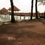 Photo taken at Jeti, Pantai Cahaya Negeri by Syed Faizal Z. on 3/15/2012