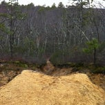 Photo taken at Allaire Moutain Bike Trails by Josh H. on 3/4/2012