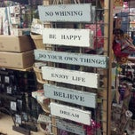 Photo taken at World Market by Amy M. on 3/16/2013