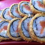 Photo taken at Mr. Miyagi Sushi Bar by Karina M. on 1/18/2013