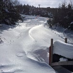Photo taken at Cannon Mt Ski Area (Deck) by Michal W. on 2/23/2014