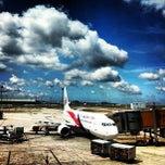 Photo taken at Kuala Lumpur International Airport (KUL) by Derrick L. on 7/10/2013