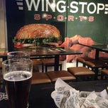 Photo taken at Wingstop Sports by Stephanie R. on 11/28/2013