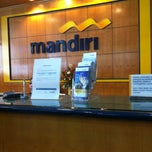Photo taken at Bank mandiri Klandasan by Anna M. on 8/31/2013
