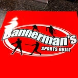 Photo taken at Bannerman's Sports Grill by Anthony F. on 10/28/2012