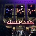 Photo taken at Cinemark Perkins Rowe by Chris J. on 8/18/2013