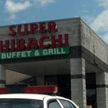 Photo taken at Super Hibachi Buffet Grill by Craig M. on 4/22/2013