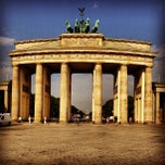 Photo taken at Pariser Platz by Fabian L. on 7/27/2013