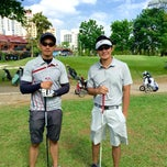 Photo taken at Camp Aguinaldo Golf Club by Augie P. on 4/19/2015
