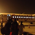 Photo taken at Runway-Chennai Airport by Emil V. on 12/28/2013