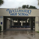 Photo taken at Wellington High School by Melissa R. on 11/9/2013