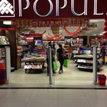 Photo taken at Popular Bookstore by Ismail S. on 1/27/2013