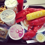Photo taken at Jakes Seafood Clamshack by Julie G. on 7/28/2013