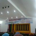 Photo taken at Auditorium FKIP UNSYIAH by Cut A. on 9/4/2013