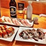 Photo taken at Young Sushi by Nikki N. on 4/20/2014