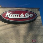 Photo taken at Kum & Go by Brian A. on 1/28/2014