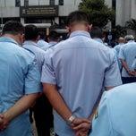 Photo taken at Lapangan upacara Kemenkumham by anung c. on 10/7/2013