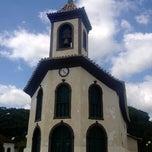Photo taken at Igreja do Rosário by Marcos T. on 4/19/2014