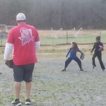 Photo taken at Hicone Soccer Park by Malik F. on 3/24/2014