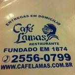Photo taken at Café Lamas by Daniel N. on 11/18/2012