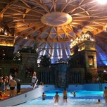 Photo taken at Ramada Resort Aquaworld Budapest by Imre F. on 12/16/2012