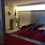 Photo taken at Kuvendi I Kosovës by Arbana P. on 11/27/2013
