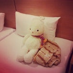 Photo taken at Bella Express Hotel by Yoo B. on 7/12/2013