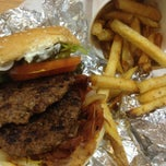 Photo taken at Five Guys by I'm Here W. on 4/7/2013