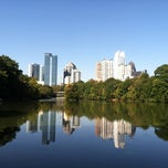 Photo taken at Piedmont Park by Marce_Ch_K on 11/30/2012
