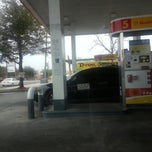 Photo taken at Shell by Sophia P. on 1/30/2014