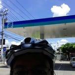 Photo taken at Bangchak Gas Station บางขุนเทียน-ชายทะเล by Som R. on 8/24/2014