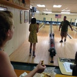 Photo taken at Woodlawn Duckpin by Danielle W. on 8/5/2014